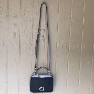 Kate Spade bicolor mini crossbody bag